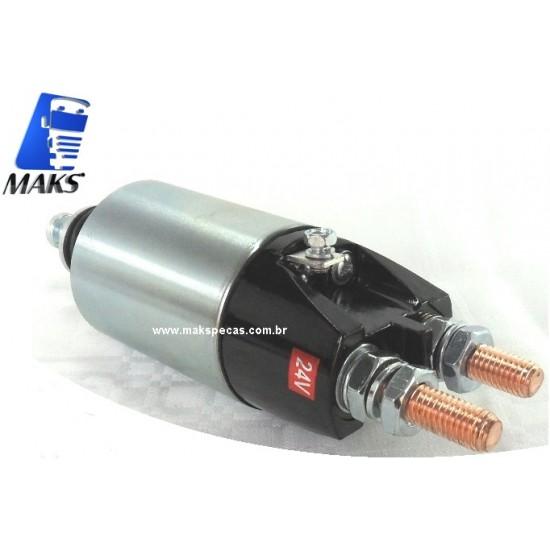 AM171 - Automático para motor de partida Mitsubishi M009T61171, M009T62572ZA , M009T62671 24V Volvo FH, outros.