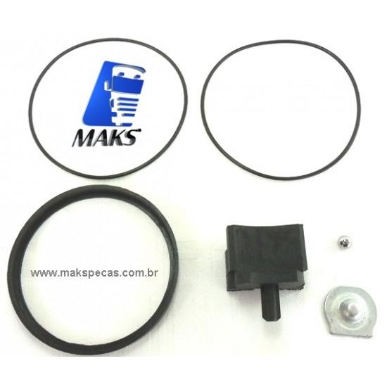ISOL171 - Kit reparo isolante para motor de partida Mitsubishi Série M9 5,5KW. Diversas aplicações, consulte a lista abaixo.